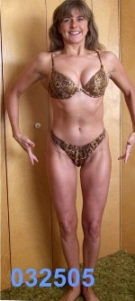 figure competitor after