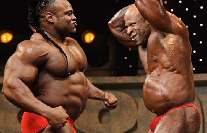 bodybuilders with big bellys