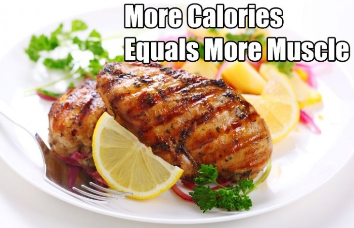 more calories for bodybuilding diet