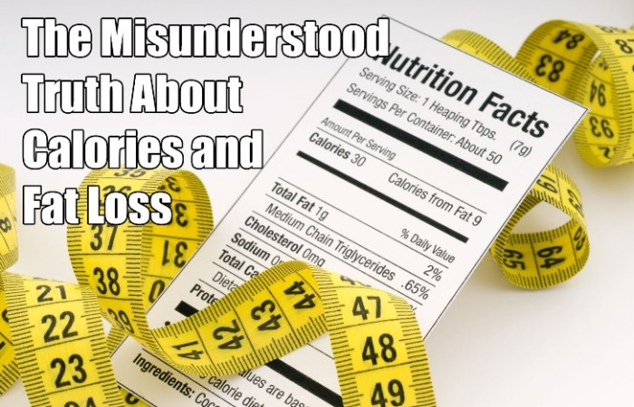 calories and fat loss food lable