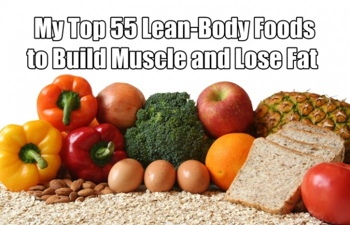 build muscle and lose body fat