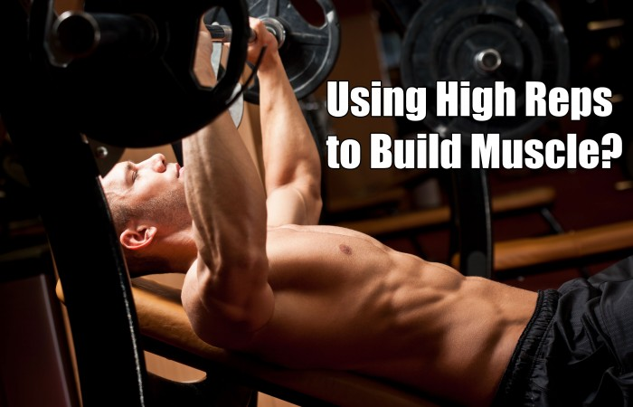 high reps to build muscle