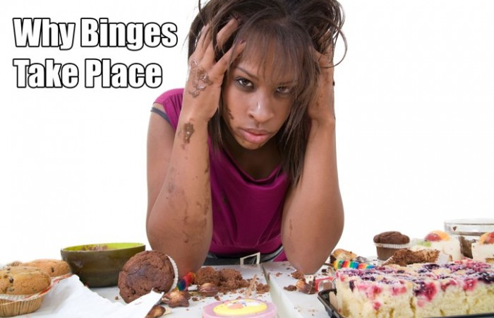 why binges take place