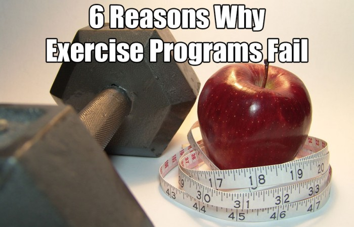 6 reasons why exercise programs fail