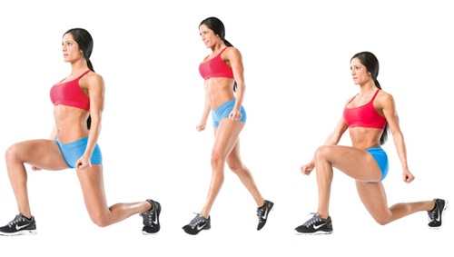 lunges for weight loss exercises at home
