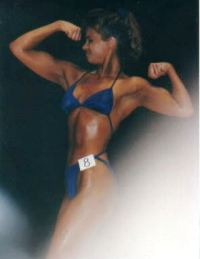 first bodybuilding competition