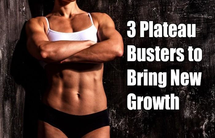 3 plateau busters