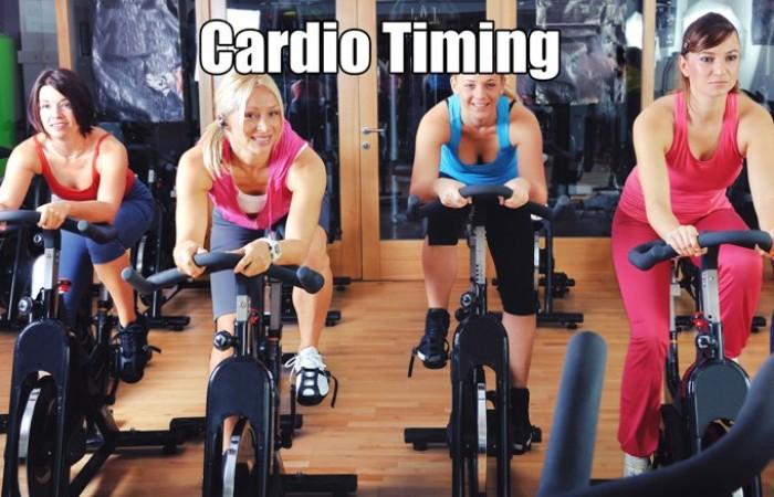 cardio timing