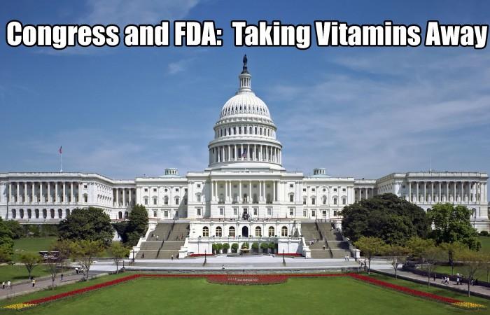 taking vitamins away