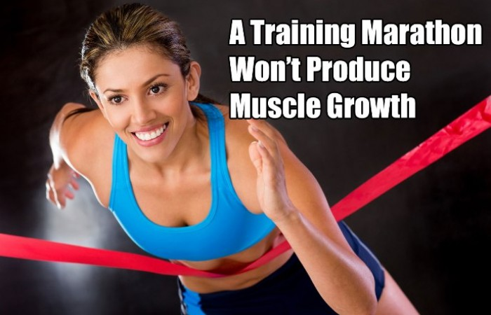 muscle growth for women