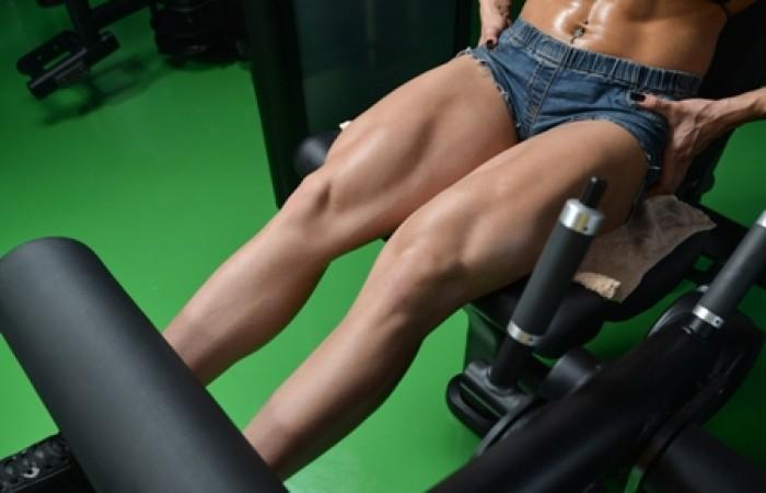 leg sculpting exercise
