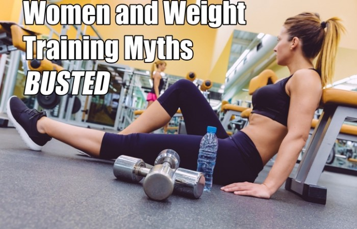 women and weight training myths