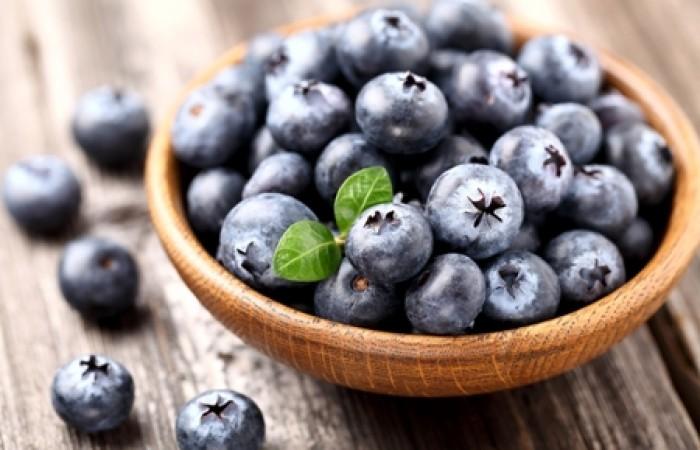 blueberries as carbs