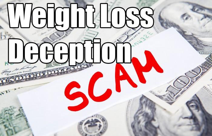 weight loss deception