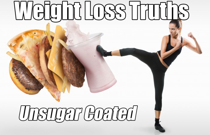 weight loss truths unsugar coated