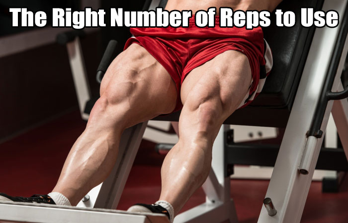 number of repetitions