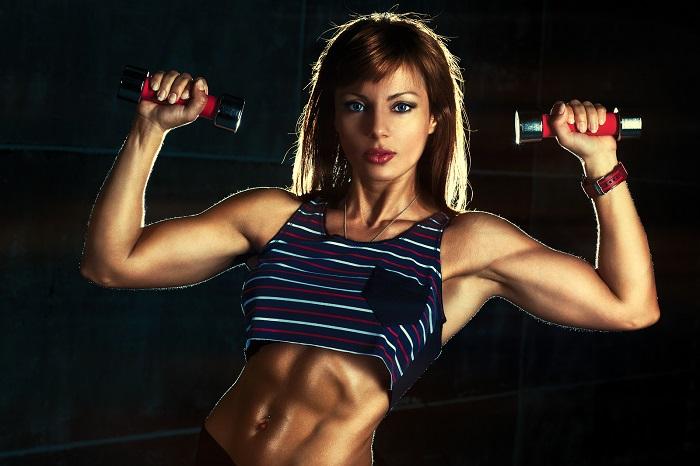 female bodybuilding exercises