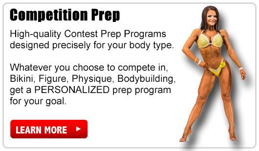 online personal training contest prep