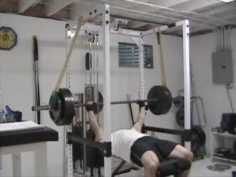 smith bench press
