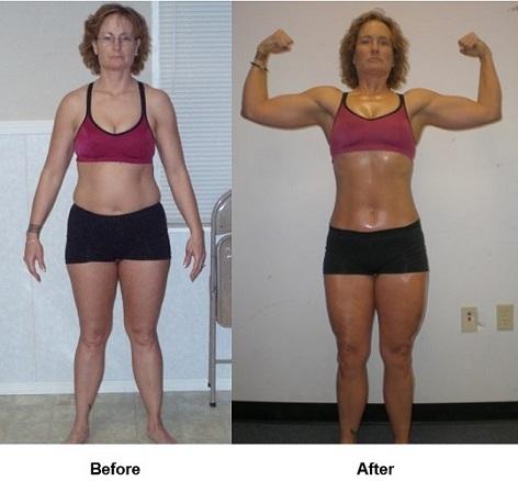 barbra's body transformation