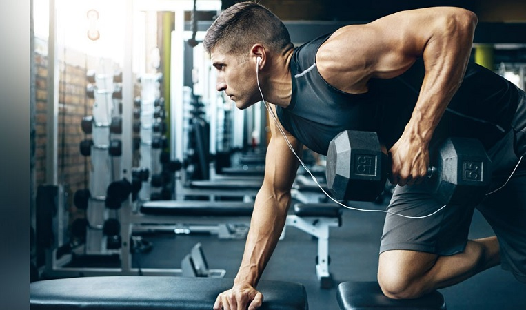 dumbbell workout for arms