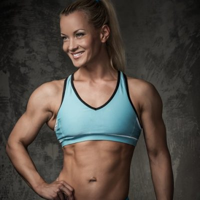 Women's Physique Competition Training